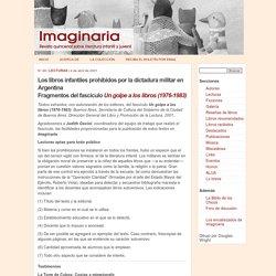 Un golpe a los libros (1976-1983) - Imaginaria No. 48 - 4 de abril de 2001