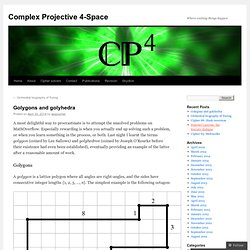 Complex Projective 4-Space