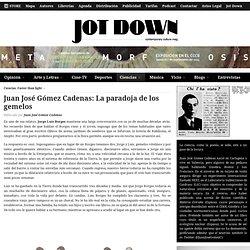 Juan José Gómez Cadenas: La paradoja de los gemelos