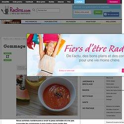 Gommage pour peaux sensibles sur Radins.com