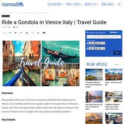 Ride a Gondola in Venice Italy