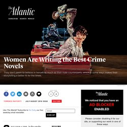'Gone Girl' and the Rise of Crime Novels by Women
