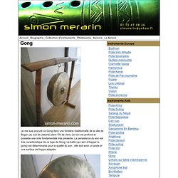 Le gong thailandais