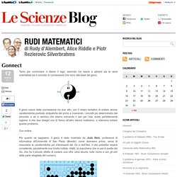 Gonnect - Rudi Matematici - Blog - Le Scienze