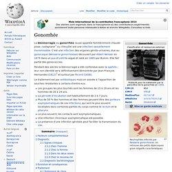 Gonorrhée