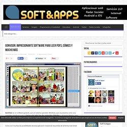 GonVisor: impresionante software para leer PDFs, cómics y mucho más