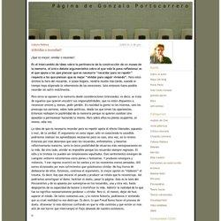 Página de Gonzalo Portocarrero