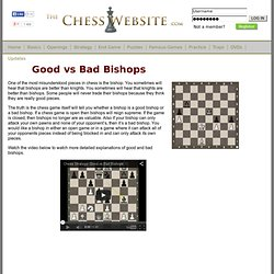 Good Bad Bishop » The Chess Website