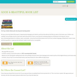 Good & Beautiful Book List – Jenny Phillips