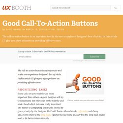 Good Call-To-Action Buttons