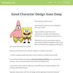 Good Character Design Goes Deep