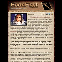 Good Fight Ministries - Eminem