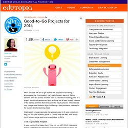 Good-to-Go Projects for 2014