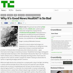 Why It's Good News HealthIT is So Bad