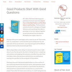 Good Products Start With Good Questions – Startup Grind – Medium