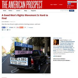 good mens rights movement is hard to find