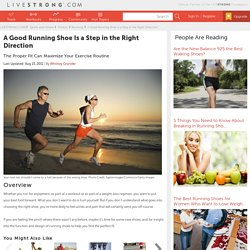A Good Running Shoe Is a Step in the Right Direction