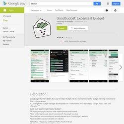 Goodbudget: Expense & Budget