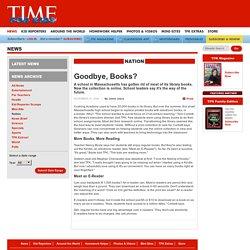 Goodbye, Books?