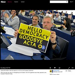 Goodbye ACTA!