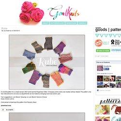 Rube « ohmygoodknits! // a knitting & crochet blog