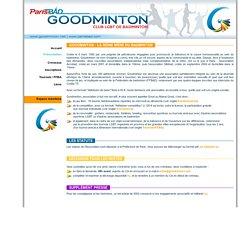 GOODMINTON - Présentation