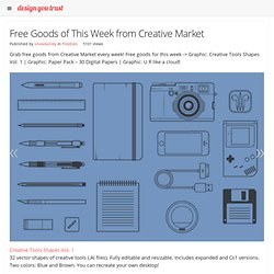 Free Goods of This Week from Creative Market