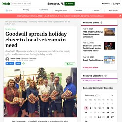 Goodwill spreads holiday cheer to local veterans in need