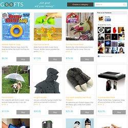 Funny, goofy, wacky stuff and gift shop online.