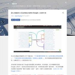 [用心智圖整理分享] 新學期給老師們的 Google 工具教學手冊