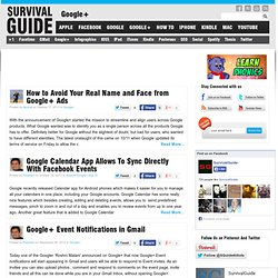 Google Plus - Survival guide