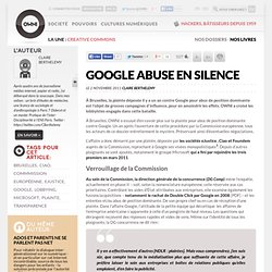 Google abuse