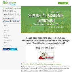 Sommet Google à l'Académie Lafontaine