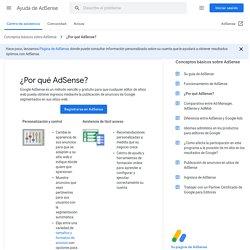 ¿Qué es Google AdSense? - Ayuda de AdSense