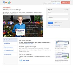Google AdWords - Online Advertising by Google