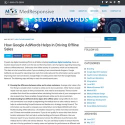 How Google AdWords Helps in Driving Offline Sales
