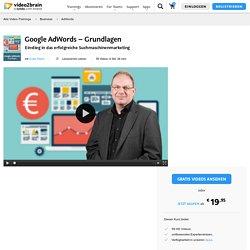 Google AdWords – Grundlagen-AdWords