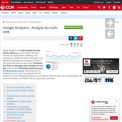 Google Analytics - Analyse du trafic web