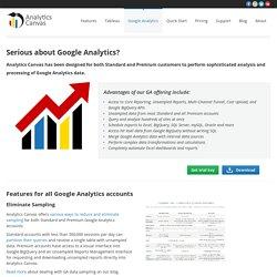 Google Analytics - Analytics Canvas