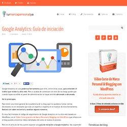 Google Analytics: Guía de iniciación