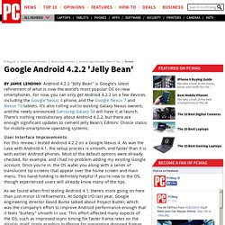 Google Android 4.2.2 Jelly Bean; Google Android 4.2.2 'Jelly Bean'
