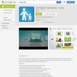 Mode Enfant: Jeux et Vidéos - GoogleApps sur l'AndroidMarket