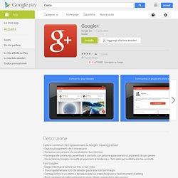 Google+ - App Android su Google Play