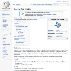 Google App Engine - Wikipedia