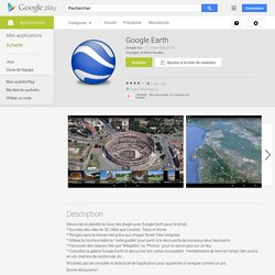 Earth – Applications Android sur Google Play
