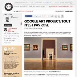 Google Art Project: tout n'est pas rose