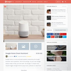Google home accessories