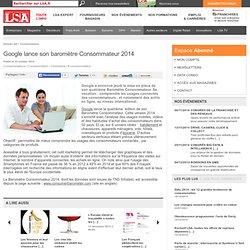 LSA 24/10/14 Google lance son baromètre Consommateur 2014