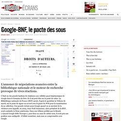 Google-BNF, le pacte des sous