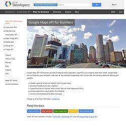Maps API Premier - Google Code